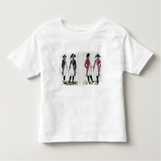 Musketeers and Officers, 1800 Tees