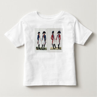 Musketeers and Officers, 1800 Toddler T-Shirt