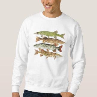 Muskie,Pike,Pickerel Apparel Sweatshirt