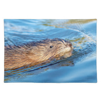 Muskrat at Vassar Farms Ecological Preserve Placemat