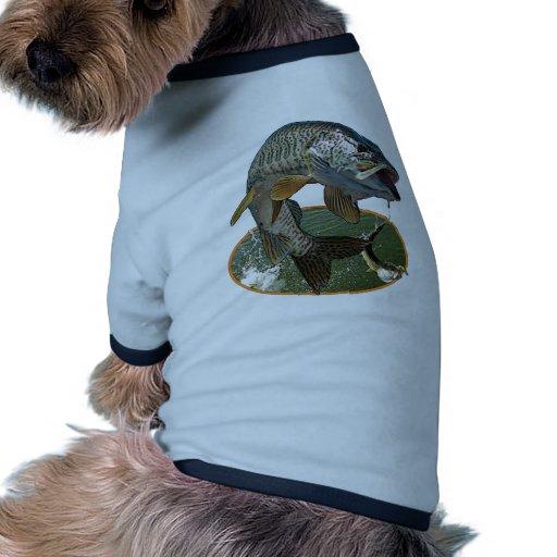 Musky 6 doggie tshirt