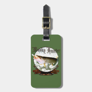 Musky hunter 1 tags for bags