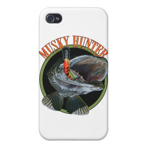 Musky hunter 7 covers for iPhone 4