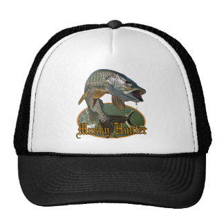Musky Hunter 9 Hats