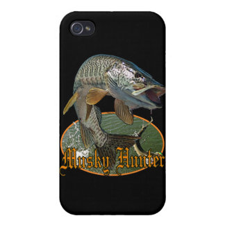 Musky Hunter 9 iPhone 4/4S Covers