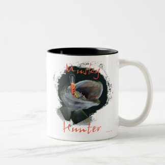 Musky Hunter Coffee Mugs