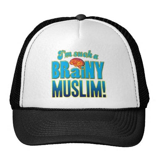 Muslim Brainy Brain Trucker Hat