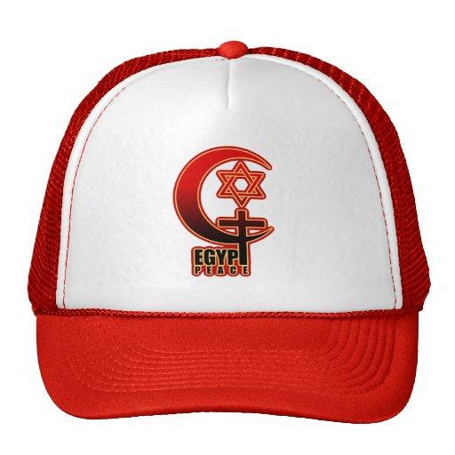Muslim Christian Jew EGYPT PEACE Hat