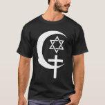 MUSLIM CHRISTIAN JEW EGYPT PEACE T-Shirt