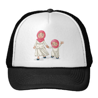 Muslim family trucker hat