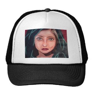 muslim girl trucker hat