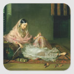 Muslim Lady Reclining, 1789 (oil on canvas) Stickers