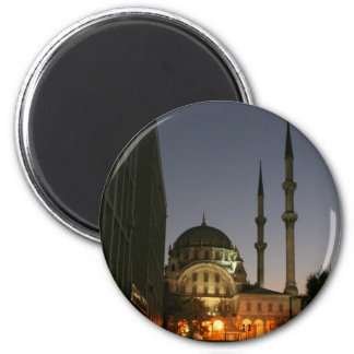 Muslim mosque in Istanbul, Turkey Fridge Magnets