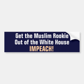 Muslim Rookie Bumper Sticker
