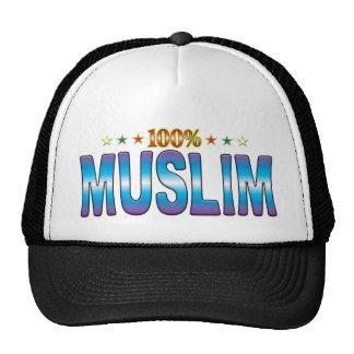 Muslim Star Tag v2 Mesh Hat