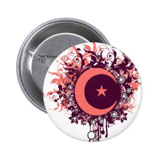 Muslima 6 Cm Round Badge