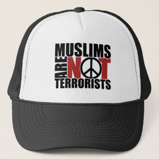Muslims are not terrorists cap