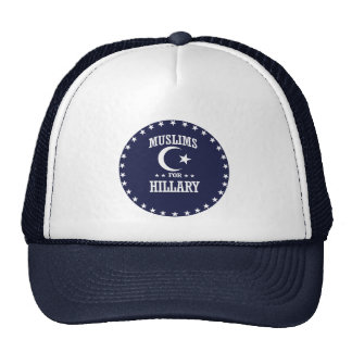MUSLIMS FOR HILLARY CAP