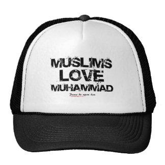 Muslims Love Muhammad Hats