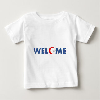 Muslims welcome here baby T-Shirt
