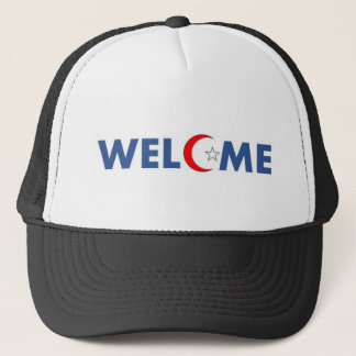 Muslims welcome here cap