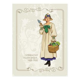 Muslin Smock Post Card