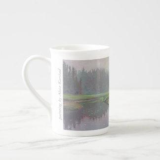 Musquash Estuary Tide Rising - bone china mug