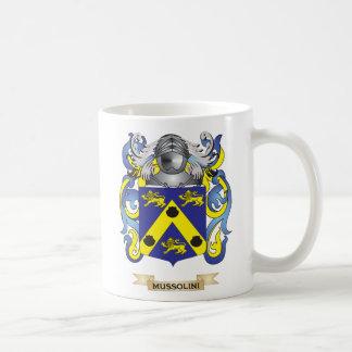 Mussolini Coat of Arms (Family Crest) Basic White Mug