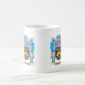 Mussolini Coat of Arms - Family Crest Basic White Mug