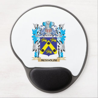 Mussolini Coat of Arms - Family Crest Gel Mouse Pad
