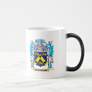 Mussolini Coat of Arms - Family Crest Morphing Mug