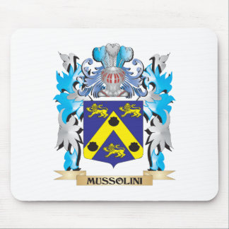 Mussolini Coat of Arms - Family Crest Mouse Pad