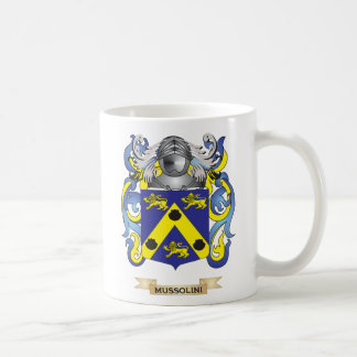 Mussolini Coat of Arms (Family Crest) Mugs