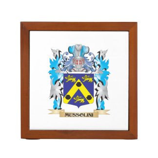 Mussolini Coat of Arms - Family Crest Pencil Holder