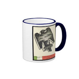 Mussolini Propaganda Coffee Mug
