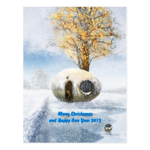 Must change date year - Merry Christmas Post Card
