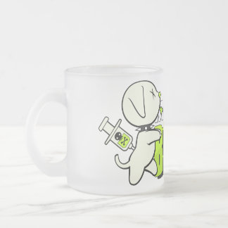 Must Have BRAINS! Frosted Mug