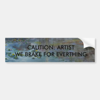 Must-have Bumper Sticker For Artists