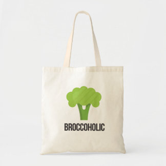 Must-have for Vegan & Vegeterian - Broccoholic Tote Bag