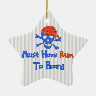Must Have Rum Christmas Ornament