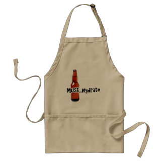 Must Hydrate Beer Bottle Standard Apron