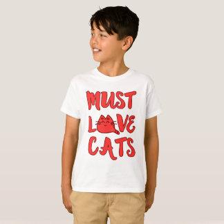 Must Love Cats Boys Shirt