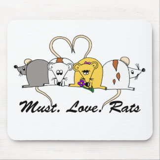 Must. Love. Rats Mousemat