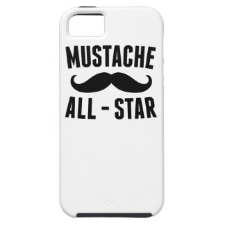 Mustache All Star Tough iPhone 5 Case