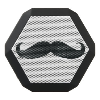 Mustache Black Boombot Rex Bluetooth Speaker