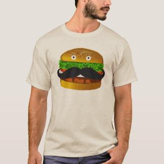 Mustache Burger Man T-shirt
