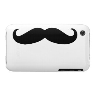Mustache Case-Mate iPhone 3 Cases