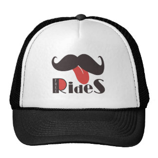 Mustache Collection Mesh Hat