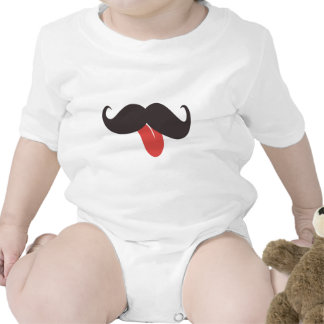 Mustache Collection Baby Creeper