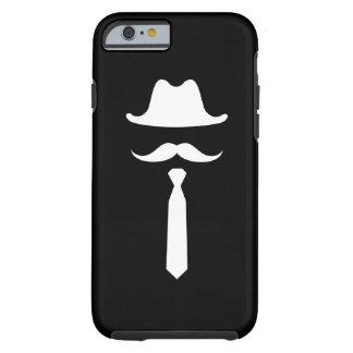 Mustache & Cowboy Hat Pictogram iPhone 6 Case